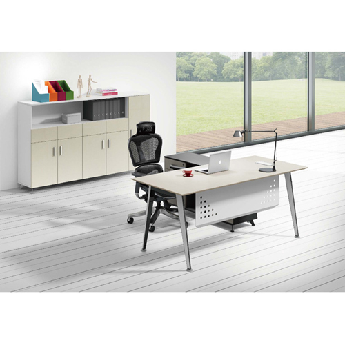 Executive Metal Frame Office Desk Image 7