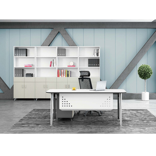 Executive Metal Frame Office Desk