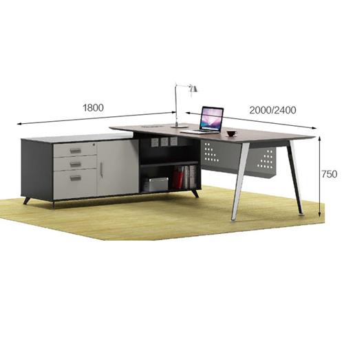 Boss Modern Computer Desk Image 12