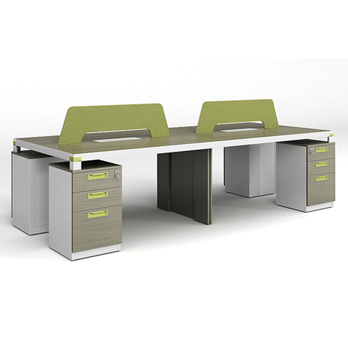 Professional Four Seater Computer Desk with Screen Partition Image 6