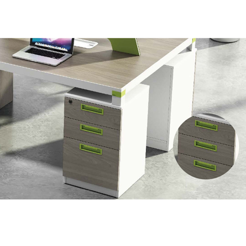 Professional Four Seater Computer Desk with Screen Partition Image 8