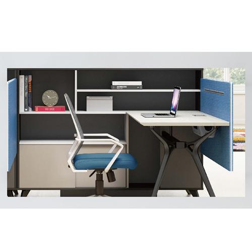 Elegant Design H-Shape Office Workstation Image 11