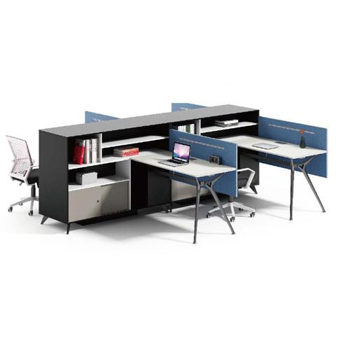 Elegant Design H-Shape Office Workstation