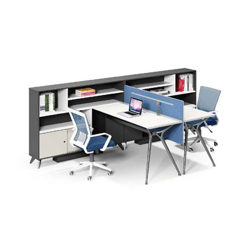 Elegant Design H-Shape Office Workstation Image 1