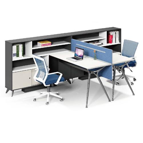 Elegant Design H-Shape Office Workstation Image 8