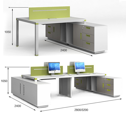 Exclusive Computer Desk with Cabinet Image 13