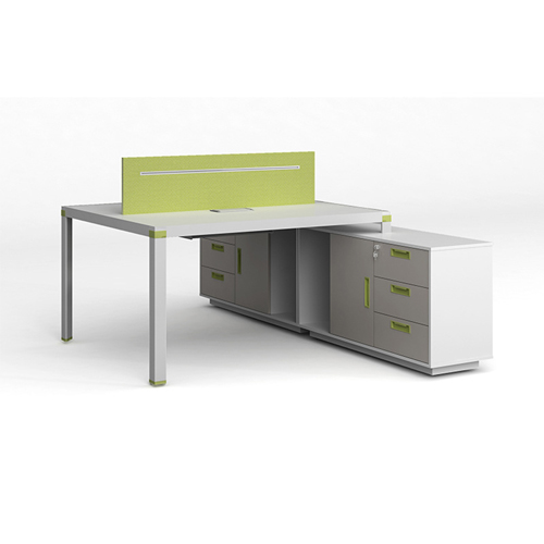 Exclusive Computer Desk with Cabinet Image 1