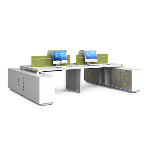 Exclusive Computer Desk with Cabinet Image 2