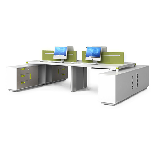 Exclusive Computer Desk with Cabinet Image 5