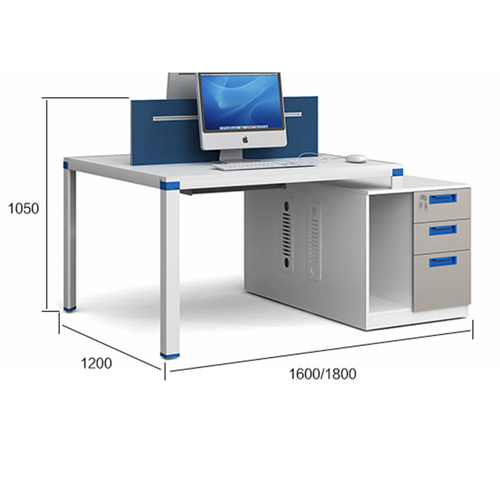 Modern Style Computer Office Workstation Image 12