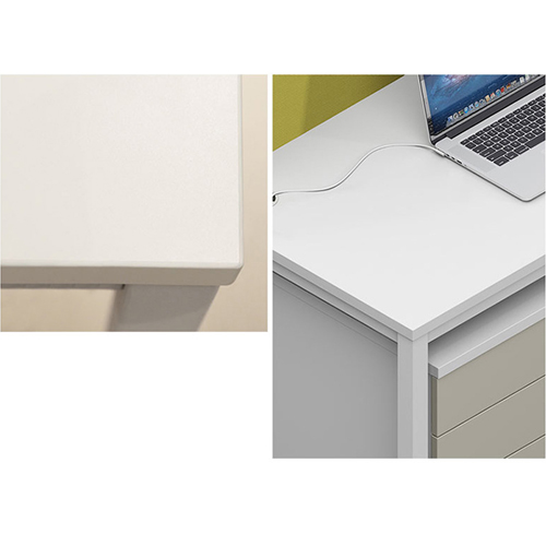 Four Seater Professional Training Cubicle Workstation Image 9