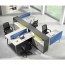 Four Seater Professional Training Cubicle Workstation Image 3