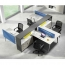 Four Seater Professional Training Cubicle Workstation Image 5