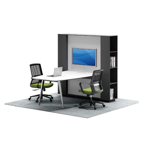 Professional Wall Board Screen Personnel Desk Image 1