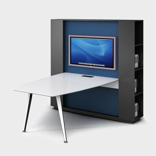 Professional Wall Board Screen Personnel Desk Image 4