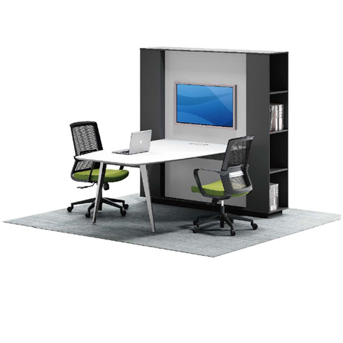 Professional Wall Board Screen Personnel Desk Image 5