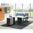 Modern Two Seater Office Staff Desk with Drawer Image 4