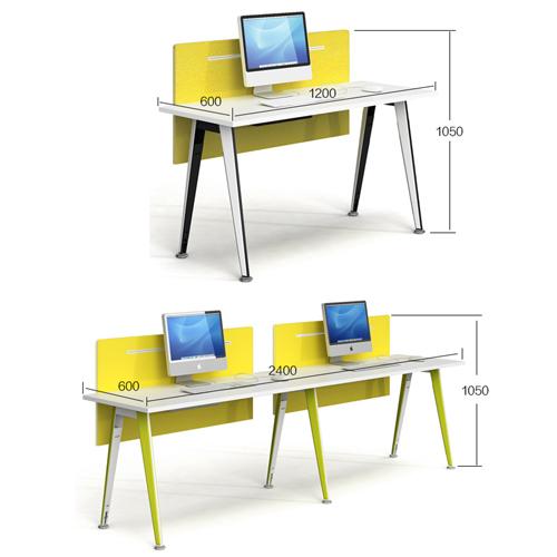 Modular Official Single Staff Desk Image 10