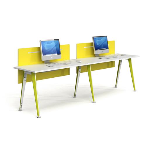 Modular Official Single Staff Desk Image 1