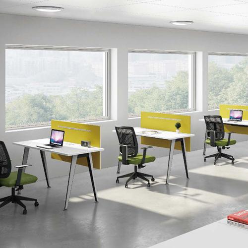 Modular Official Single Staff Desk Image 2