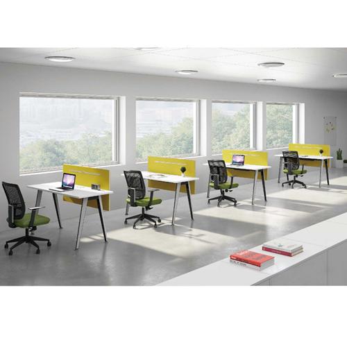 Modular Official Single Staff Desk Image 4