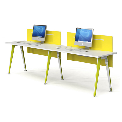 Modular Official Single Staff Desk Image 6