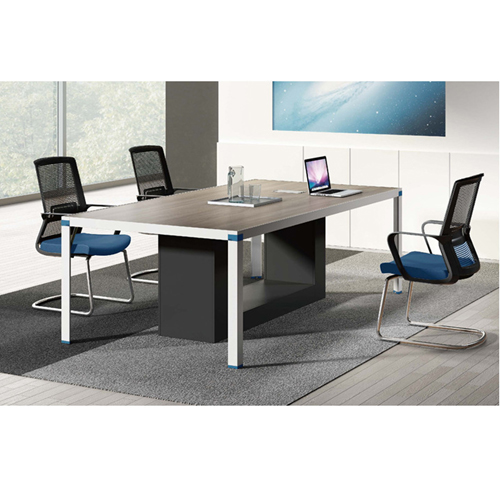 Screen Partition Staff Desk with Side Storage Image 9
