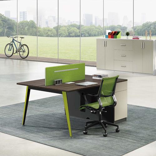 Single Adjustable Office Workstation with Storage Image 1