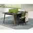 Single Adjustable Office Workstation with Storage Image 4