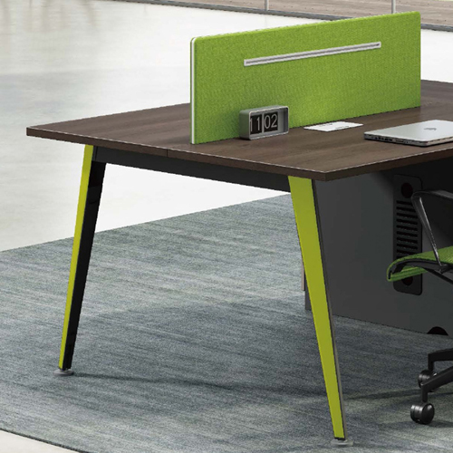 Single Adjustable Office Workstation with Storage Image 5