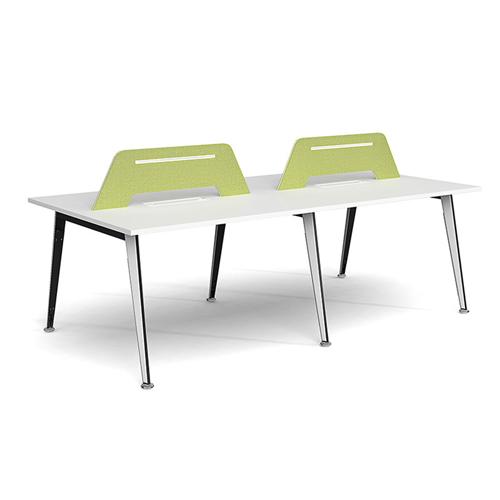 Adjustable Height Office Screen Desk Image 1