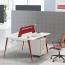 Adjustable Height Office Screen Desk Image 3