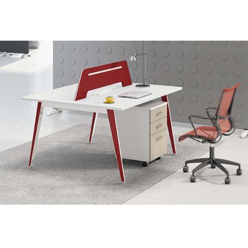 Adjustable Height Office Screen Desk Image 8