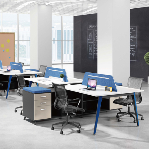 Linear Style Staff Screen Partition Workstation