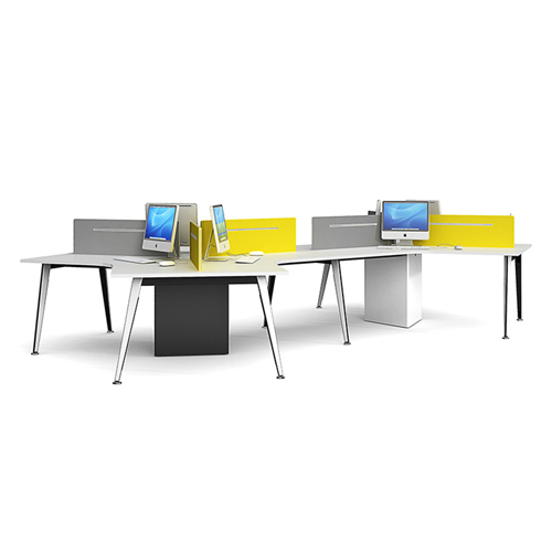 Triangle Stylish Custom Modular Office Staff Desk Image 1