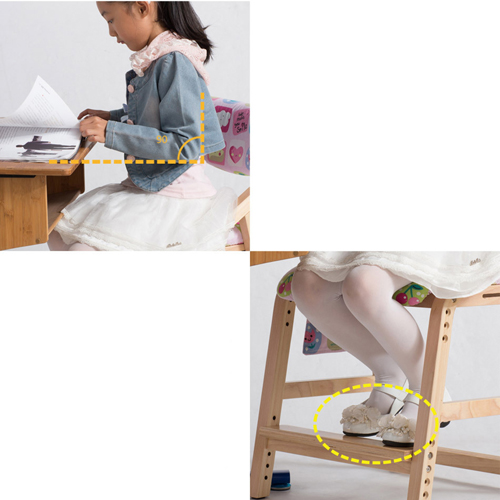 Wooden Adjustable Kids Chair Image 14