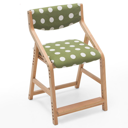 Wooden Adjustable Kids Chair Image 1