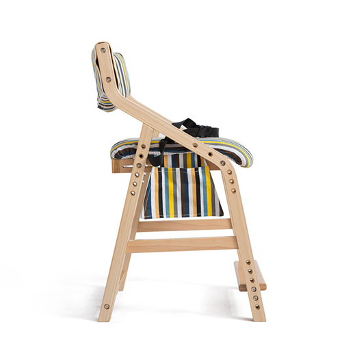 Wooden Adjustable Kids Chair Image 3