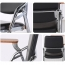 Leather Training Chair with Wooden Pad Image 9