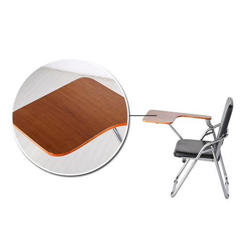 Leather Training Chair with Wooden Pad