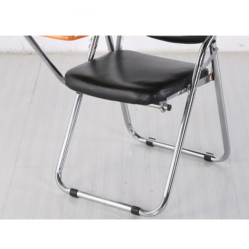 Leather Training Chair with Wooden Pad Image 11