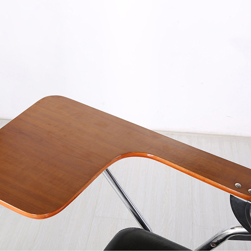 Leather Training Chair with Wooden Pad Image 13