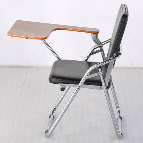 Leather Training Chair with Wooden Pad Image 2