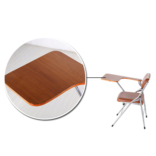 Tweezy Leather Foldable Chair with Writing Pad Image 13
