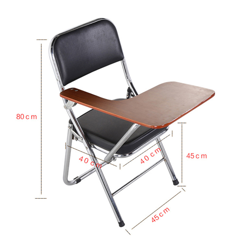 Uberlux Foldable Traning Chair with Writing Pad Image 13