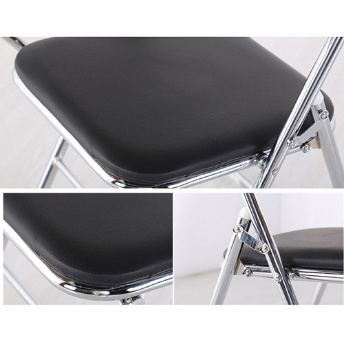 Titonic Leather Foldable Writing Chair Image 10