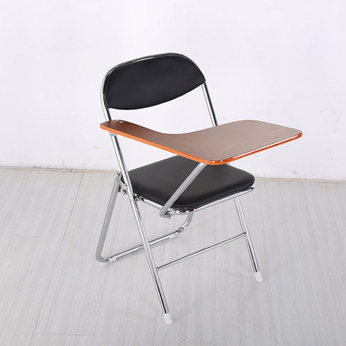 Titonic Leather Foldable Writing Chair Image 1