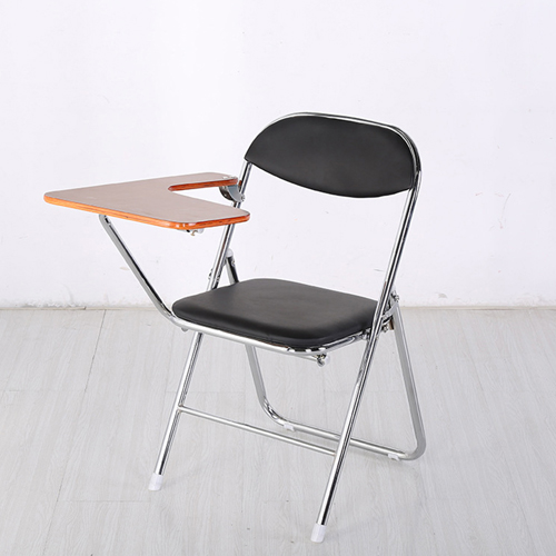 Titonic Leather Foldable Writing Chair Image 2