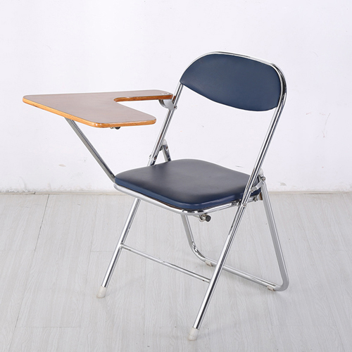 Titonic Leather Foldable Writing Chair Image 3