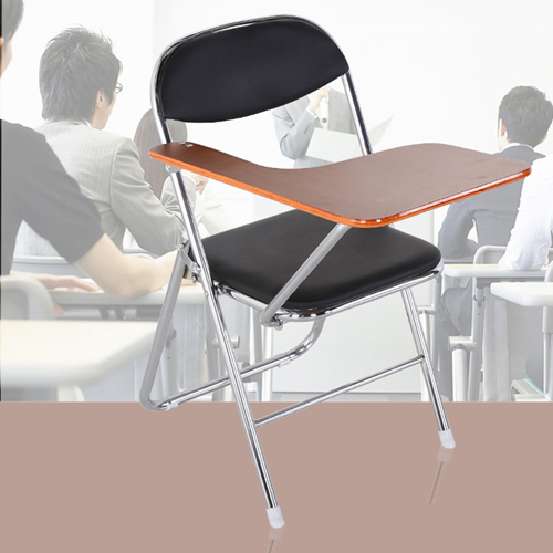 Titonic Leather Foldable Writing Chair Image 5